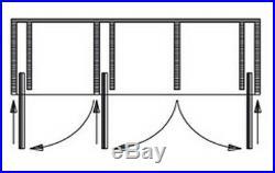 HAWA concepta 25, 1250-1850mm Sliding Door Hardware System
