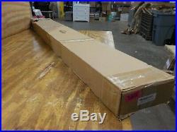 Homacer Sliding Barn Door Hardware Single Track Bypass Double Door Kit, 10FT