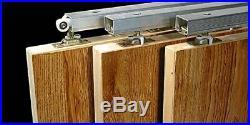 Johnson Hardware 111MD Multi-Slide 3-Door Hardware Set, 94 In