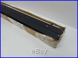 KNOBWELL 16' Sliding Barn Double Door Hardware Set Track Kit Antique Style Black