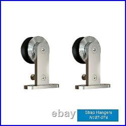 National Hardware N186-962 Decorative Interior Sliding Barn Door Hardware, St