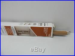 National Hardware N186-962 Interior Sliding Barn Door Hardware, Stainless Steel