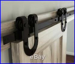 National Hardware N186-964 Decorative Horseshoe Interior Sliding Barn Door Ha