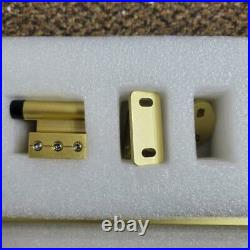 National Hardware N700-006 Interior Sliding Barn Door Hardware, 72 in, Gold