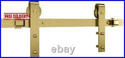 National Hardware N700-006 Interior Sliding Barn Door Hardware One Piece Designe