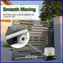 New1800lbs Sliding Gate Opener Door Operator Kit Automatic Electric Hardware USA