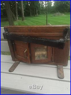 Original 1920s Sliding Garage Door Salesman Sample Vintage Door Hardware