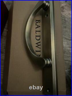 Pella Baldwin Patio Slider Joiner Door Hardware Antique Brass Joiner