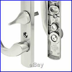Prime Line Sliding Patio Door Pull Handle Set Satin Nickel Hardware Accessory