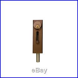 R1000DU Revolving Door & Sliding Door Drop Bolt Lock by Progressive Hardware