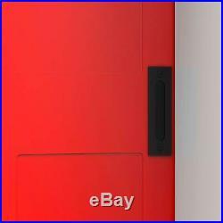 Retro Cast Iron Door Pull Handle for Sliding Barn Door Gate Furniture Hardware