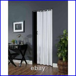Room Privacy Divider Folding Door Accordion Sliding & Closet 36 in X 80 in White