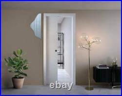 Scrigno Metric Single Pocket Door System And Optional Jamb