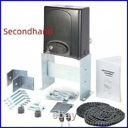 Secondhand1400lbs Automatic Sliding GateOpener Door Hardware KitSecurity System
