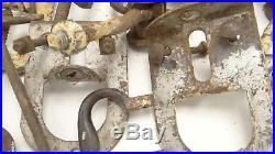 Set Myers Sure Grip Sliding Barn Door Hanging Rollers Industrial Hardware