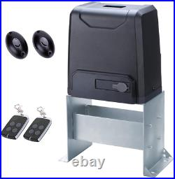 Sliding Automatic Gate Opener Kit Driveway Security Door Operator HARDWARE 2200l