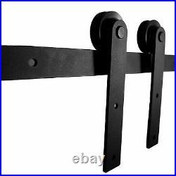 Sliding Barn Door Hardware 6.6FT Hangers Kit for Wood Interior Barn Door