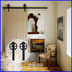 Sliding Barn Door Hardware Kit for Interior Wooden Door within 320CM