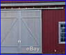 Sliding Barn Door Trolleys USA 8' Track Trolley Wall Brackets Package Hardware