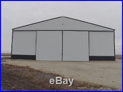 Sliding Door Frame Kit Pole Barns & Buildings Heavy Duty Hardware Track Trolleys