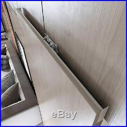 Soft Closing Interior Wall Mount Hidden Track Floating Sliding Door Hardware