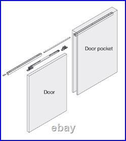 Sugatsune Fd80dhcmp-pd Sliding Pocket Door System (surface Mount)