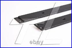 TL Flat Design Sliding Bypass Double Barn Door Hardware