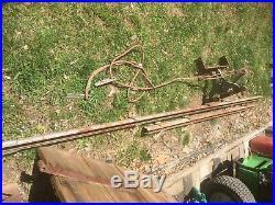 Vintage 13+FT Sliding Barn Door Library Ladder Hardware Track and Roller