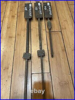 Vintage Door latch Lock Sliding Bolt Lot of 3