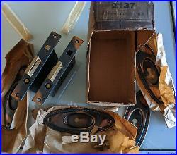 Vintage NOS 1900's POCKET SLIDING DOOR set, unused with key, Buhl, sons co