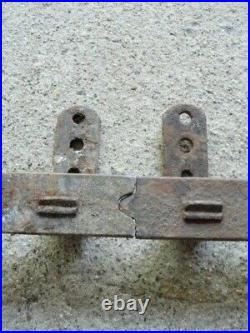Vintage Sliding Barn Door Flat Bar Track for Myers Rollers & Others'R